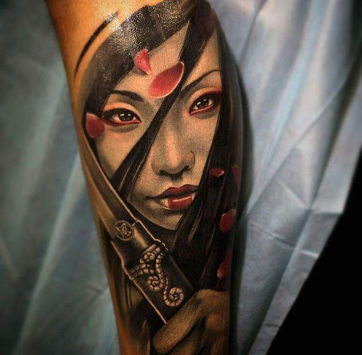 New School Style Colored Forearm Tattoo Of Beautiful Ideas And Designs