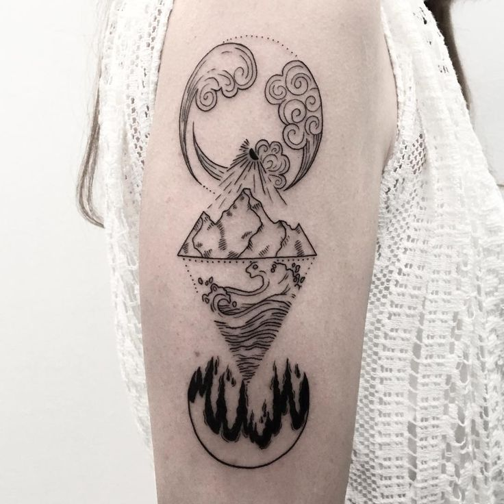 25 Unique Four Elements Tattoo Ideas On Pinterest Water Ideas And Designs