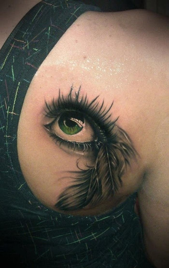 17 Best 3D Feather Tattoo Images On Pinterest 3D Ideas And Designs