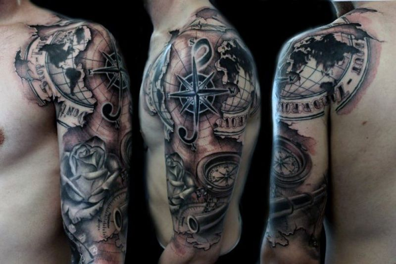 This Kind Of Impression Half Sleeve Tattoo Designs For Ideas And Designs