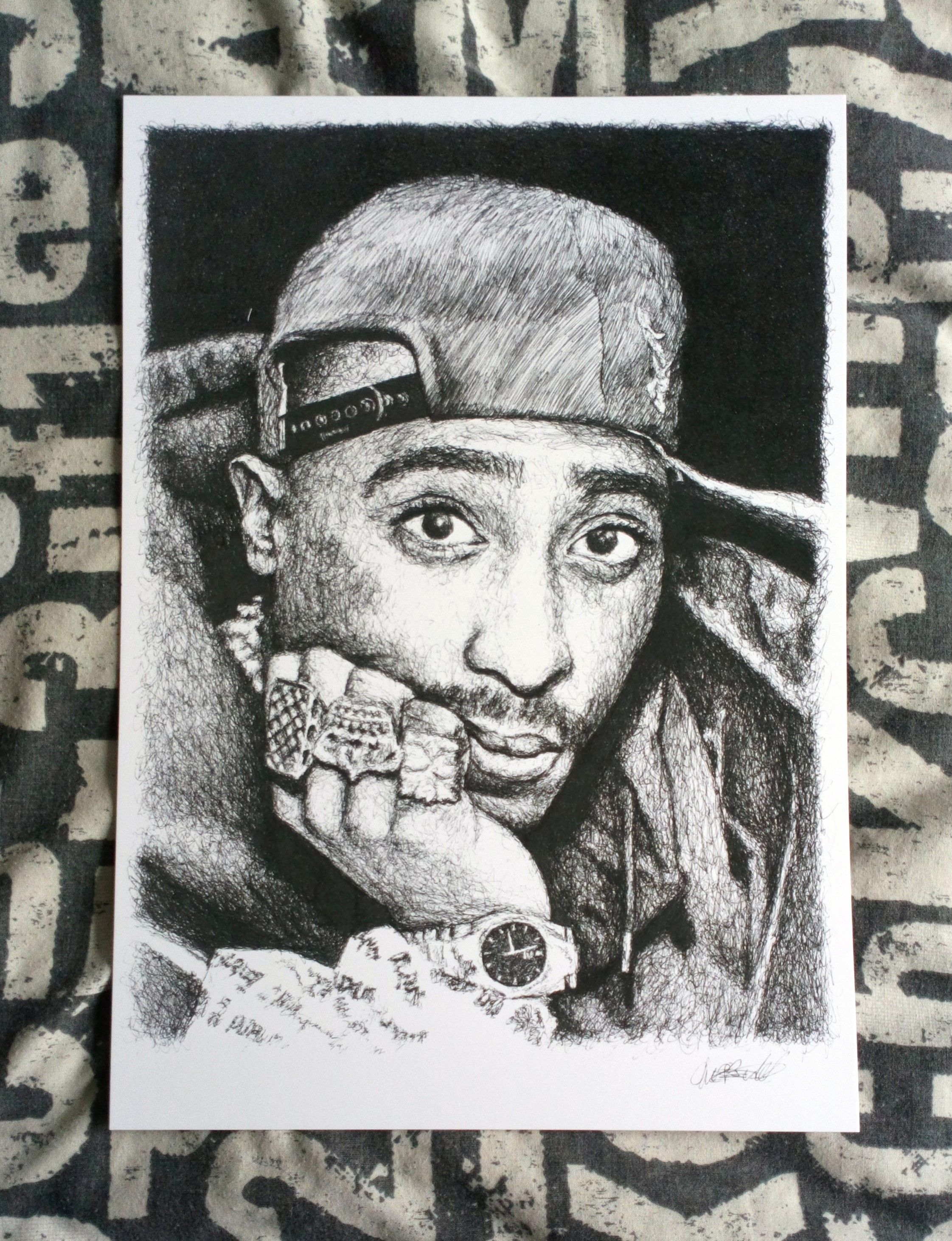 Monica 209 Twin ☆Art☆ In 2019 Tupac Art Tupac Shakur Ideas And Designs