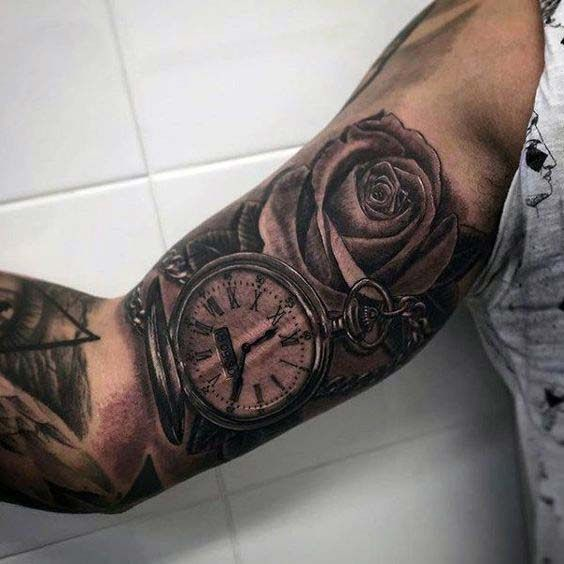 55 Best Inner Bicep Tattoos Designs And Ideas For Men And Ideas And Designs