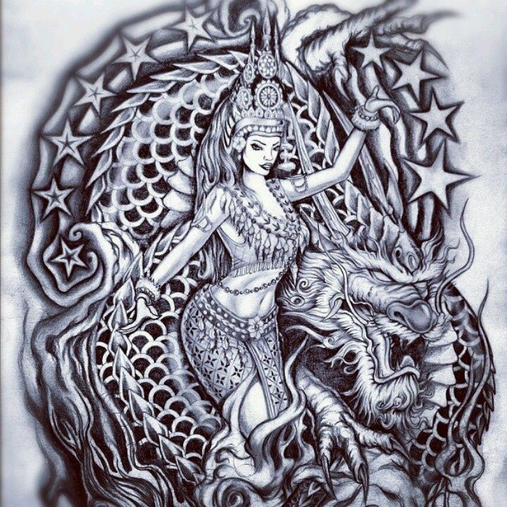 Pin By Chryss Slack On Tattoo Khmer Tattoo Dancer Ideas And Designs