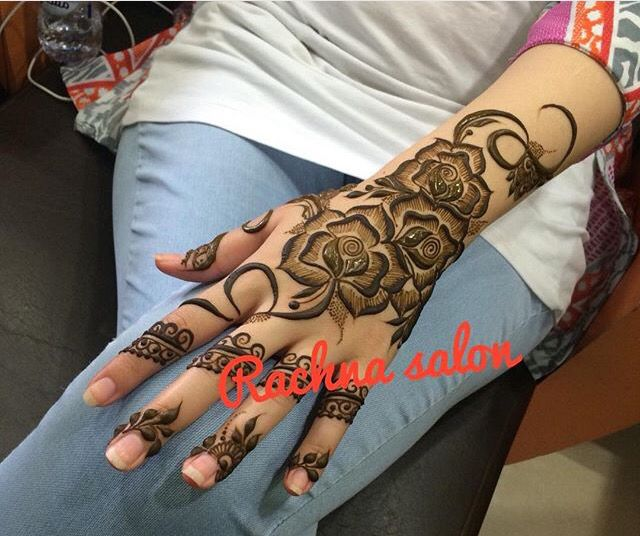 Big Fl Tattoo Inspiration Henna Mehndi Bridal Henna Ideas And Designs
