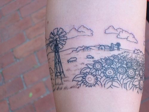 Awesome Kansas Tattoo Idea There S No Place Like Home Ideas And Designs