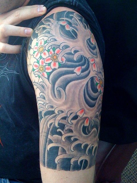 Traditional Japanese 1 4 Sleeve Session 3 Beyond Ideas And Designs