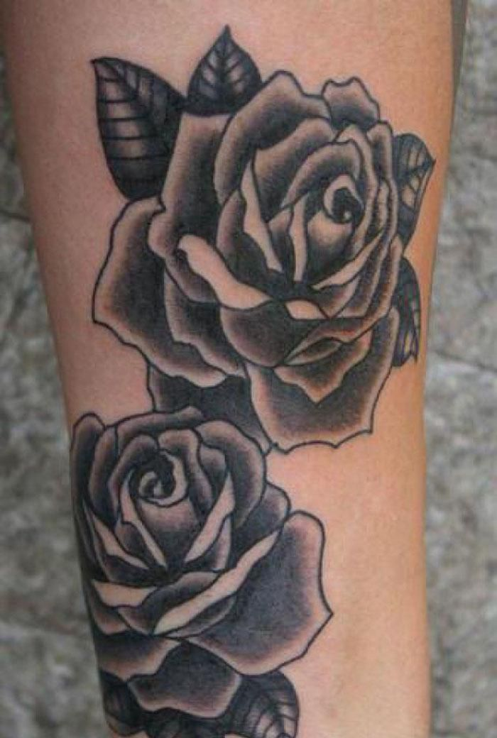 Rose Tattoos Black And Grey For Women Black And White Rose Ideas And Designs