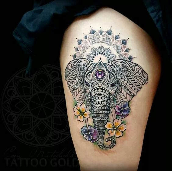 60 Best Elephant Tattoos – Meanings Ideas And Designs