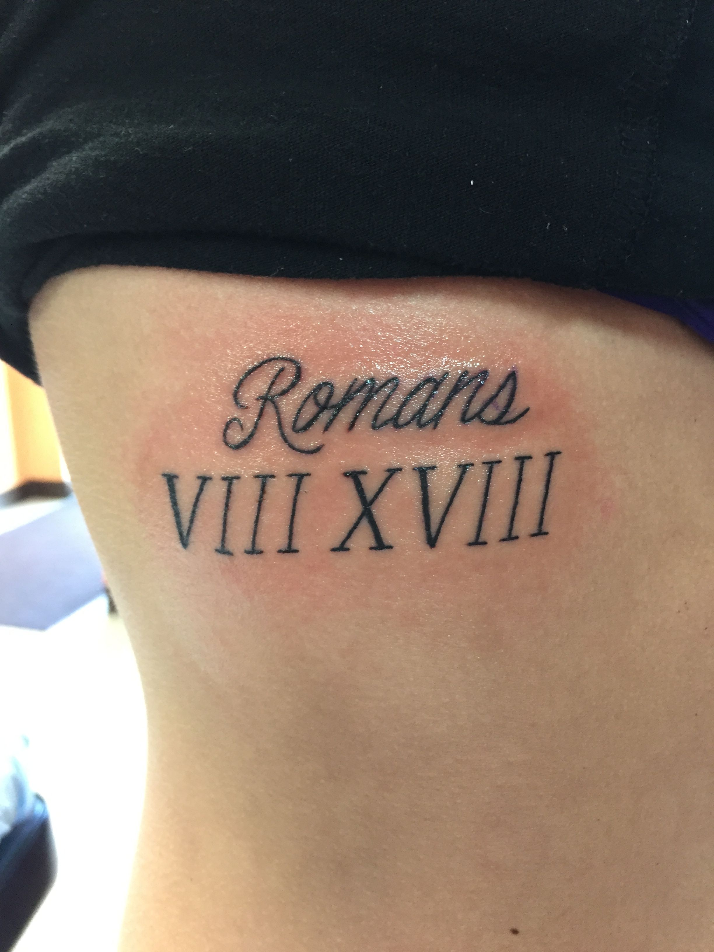 Romans 8 18 Tattoo Tattoos Tattoos Body Art Tattoos Ideas And Designs