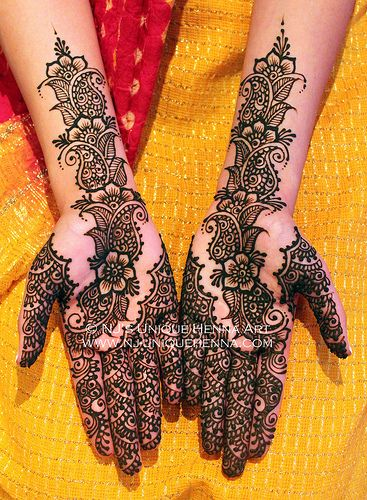 Let's Be Candid Bridal Henna By Nj S Unique Henna Art Ideas And Designs