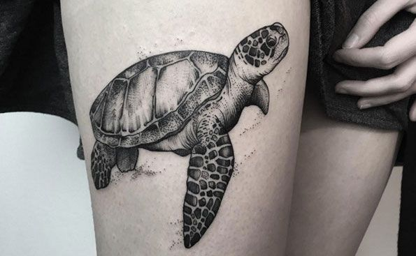 40 Magnificent Sea Turtle Tattoos We Love Ideas And Designs