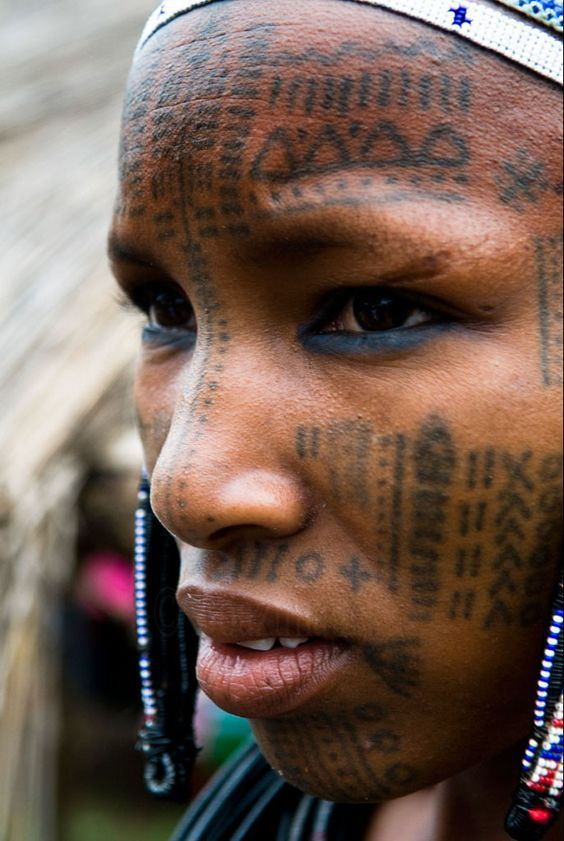 A Fulani Lady From Northern Benin In Africa ©Boazimages Ideas And Designs