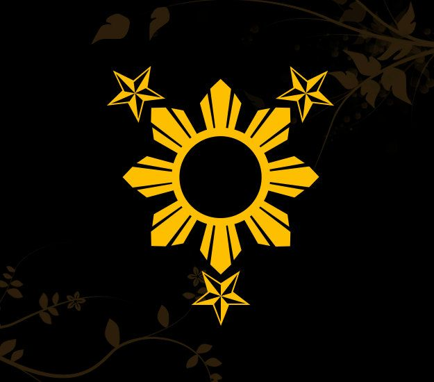 3 Stars And Sun Filipino Philippines Flag Decal For Your Ideas And Designs