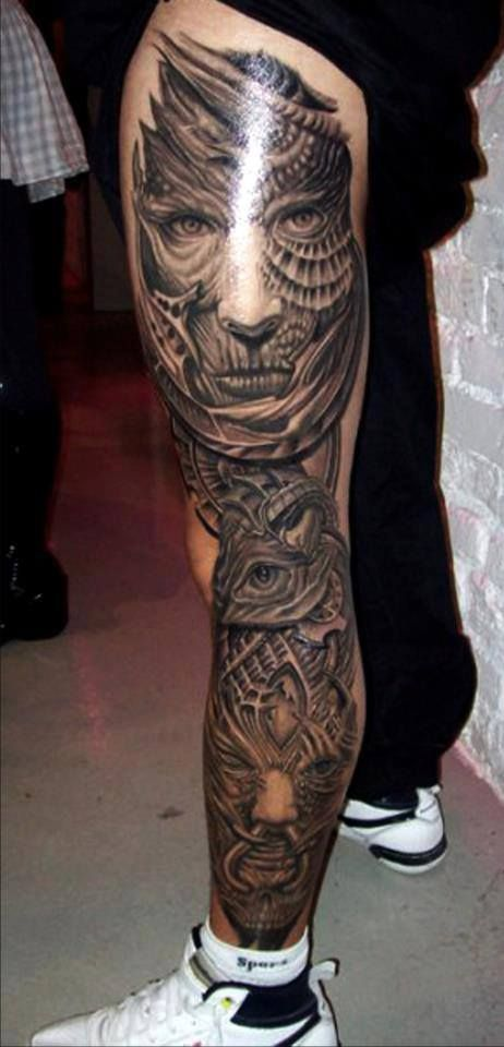 Full Sleeve 3D Tattoos For Men Theonlinecentral Com S*Xy Tattoos Leg Tattoos Thigh Tattoo Ideas And Designs