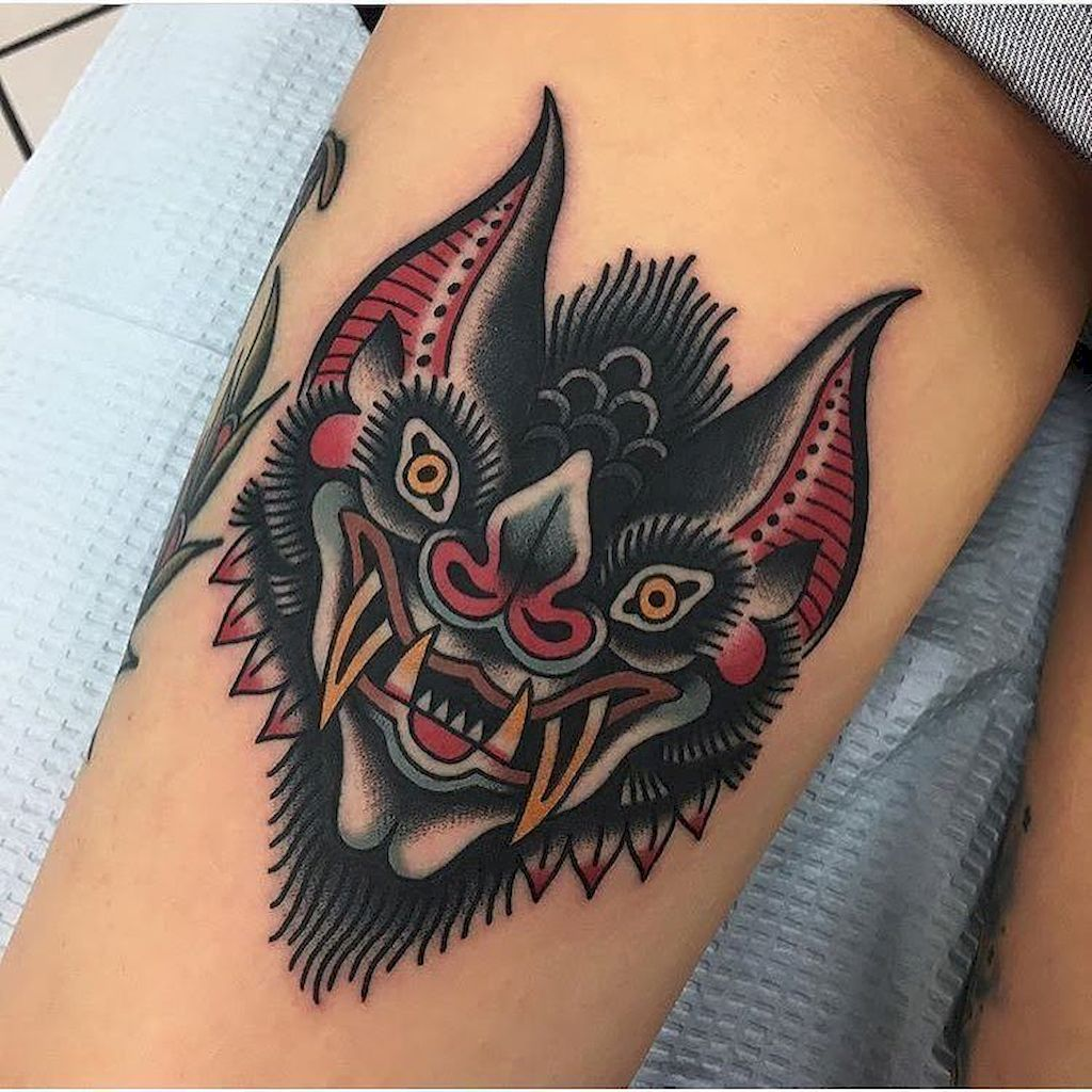 42 Unique Bat Tattoo Designs Ideas Tattoos Traditional Ideas And Designs