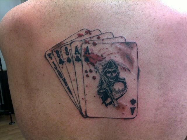 Dead Mans Hand Tattoo Mcmurphy Had In One Flew Over The Ideas And Designs