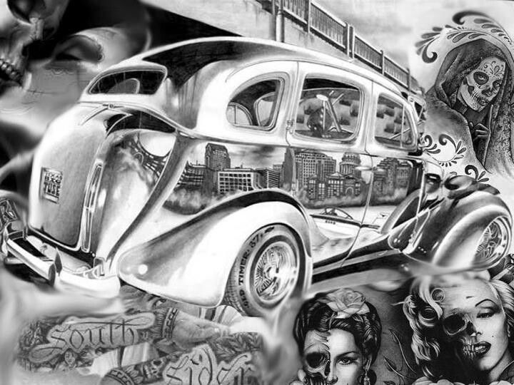 Pin By Diana Montoya Kelley On Rollin Lowrider Art Ideas And Designs
