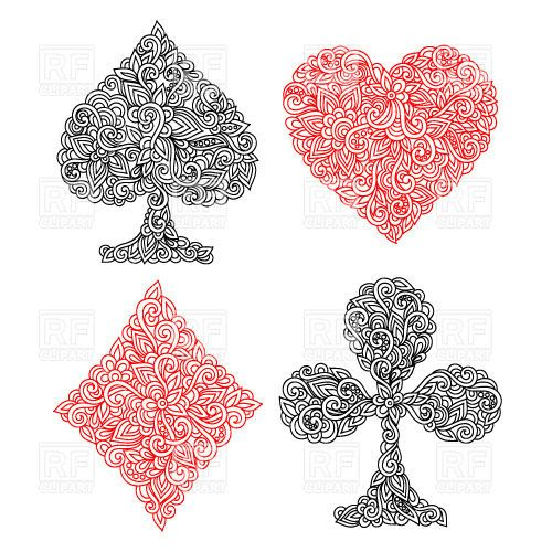 Related Keywords Suggestions For Hearts Suit Design Ideas And Designs