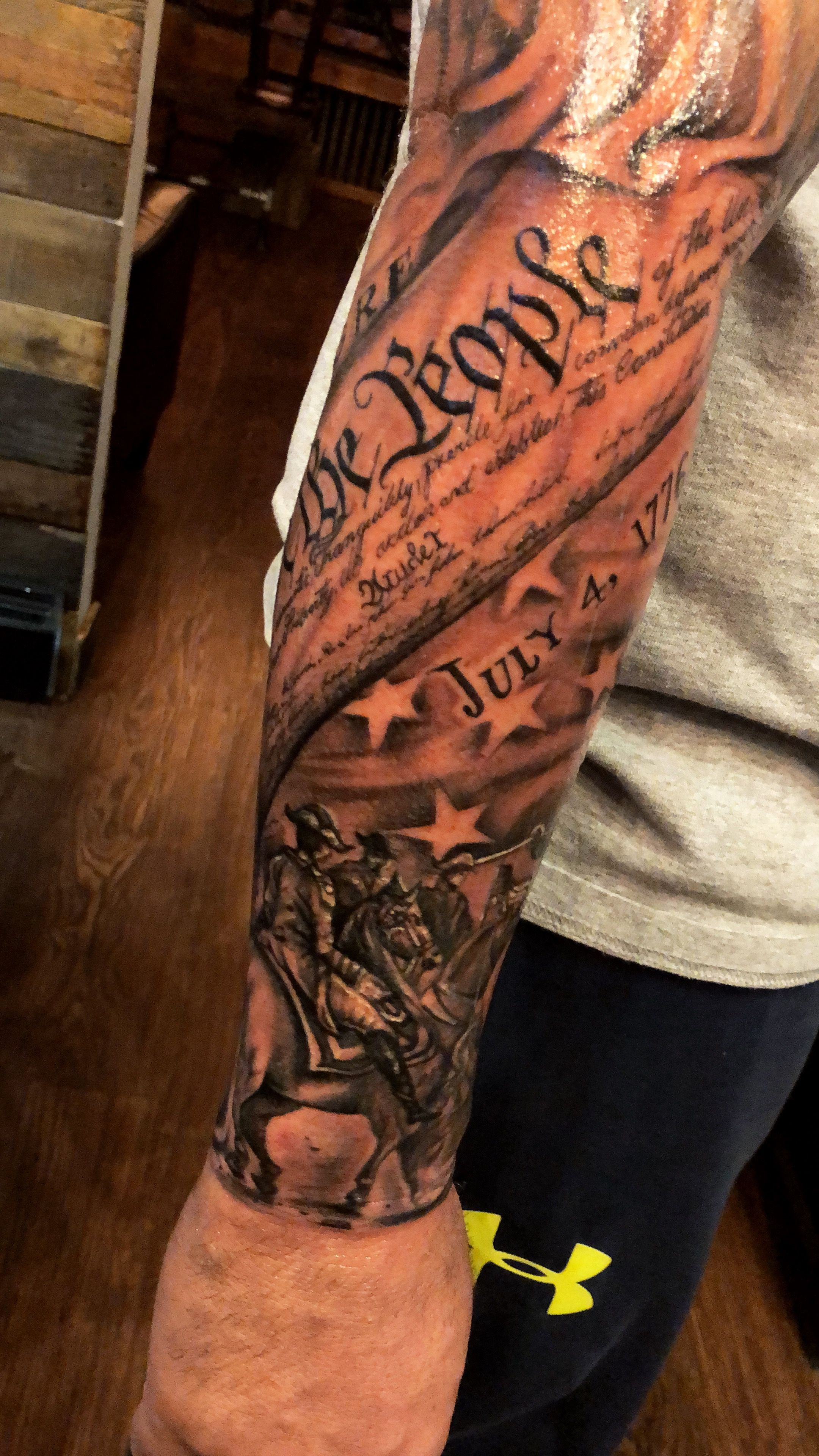 """Latest Tattoo July 4Th 1776 """"We The People"""" Tattoo Ideas And Designs"""