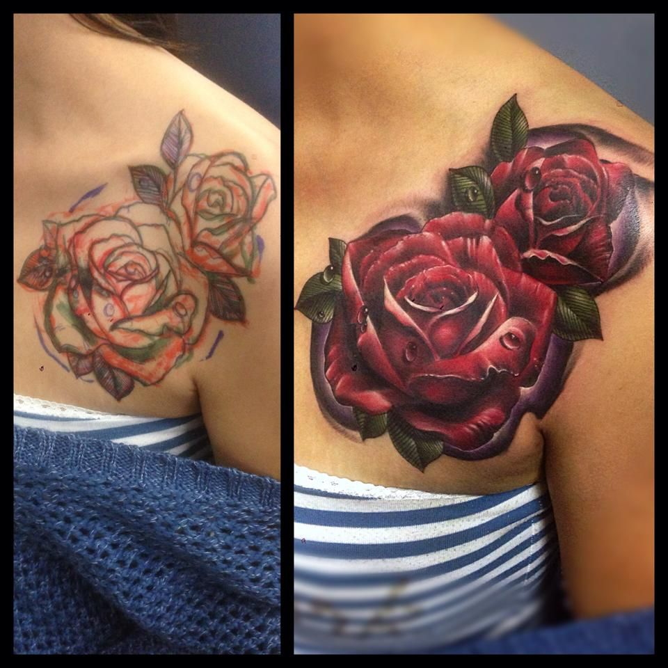 Tattoo By Mark Stewart Of Four Aces Tattoo In Aldinga Ideas And Designs