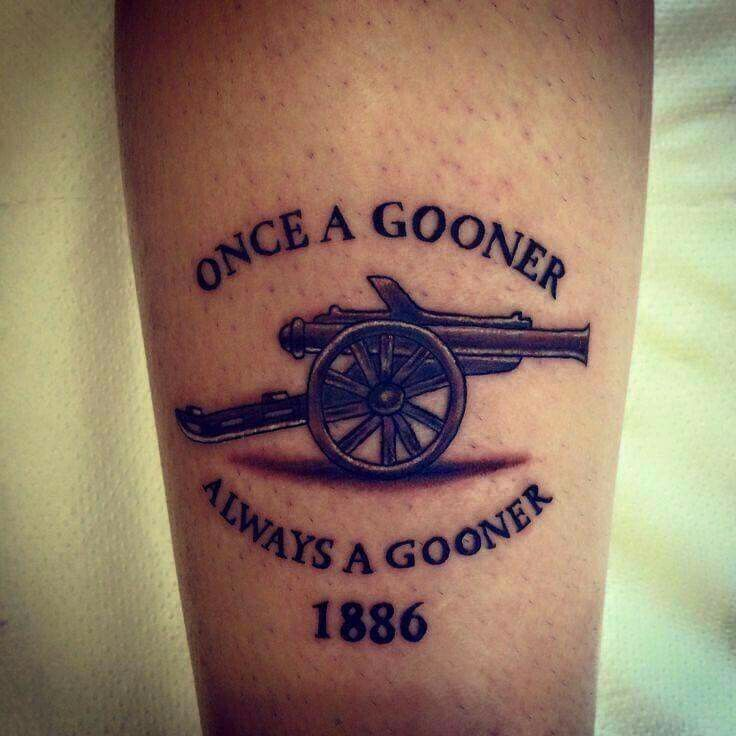 I Would Like To Do This One Day Tattoo Arsenal Ideas And Designs