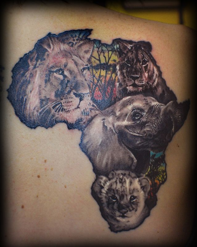 Africa Tattoos Africa Tattoos African Tattoo Tattoos Ideas And Designs