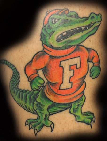 Pin Florida Gator Tattoos Page 7 Picture To Pinterest Ideas And Designs