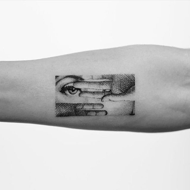 Fornasetti Adaptation Tattoo By Mr K Mr K Tats Sanghyuk Ideas And Designs