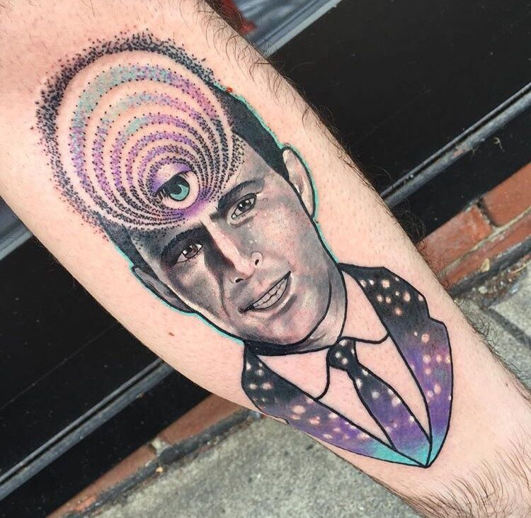 My Rod Serling Twilight Zone Tattoo By Nick Keiser At Ideas And Designs