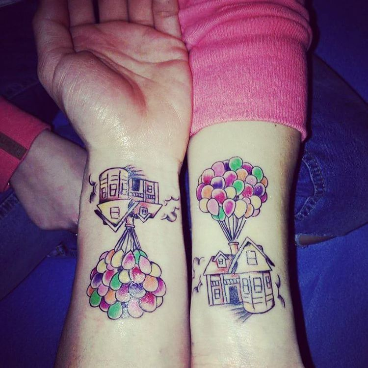 21 Adorable Couple Tattoos Inspired By Disney Tattoo Ideas And Designs