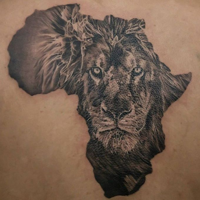 Africa Lion Tattoo Google Search Tattoos Tattoos Ideas And Designs