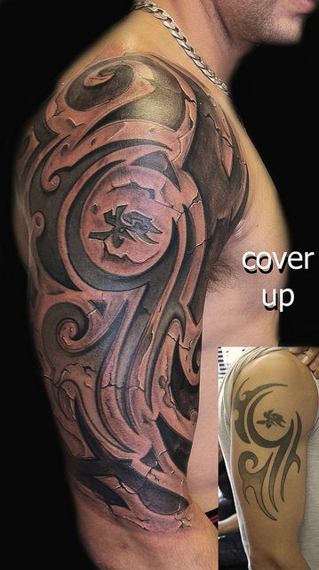 Tribal Biomechanical Tattoo Designs Google Search Ideas And Designs