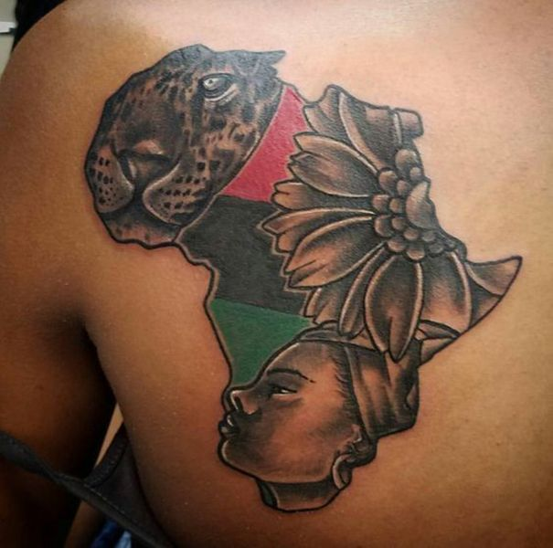 African Tattoo On Back Tribal African Tattoo Designs Ideas And Designs