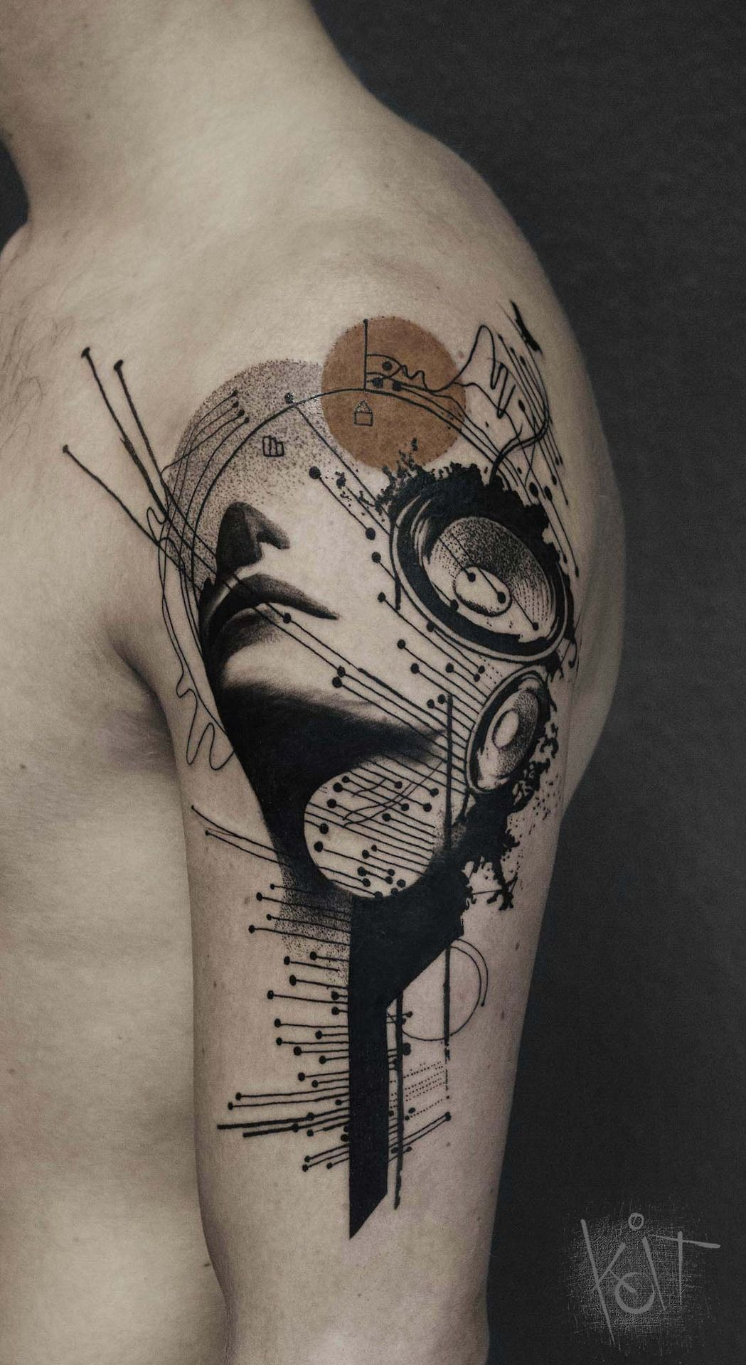 Koit Tattoo Berlin Graphic Style Music Theme Arm Tattoo Ideas And Designs