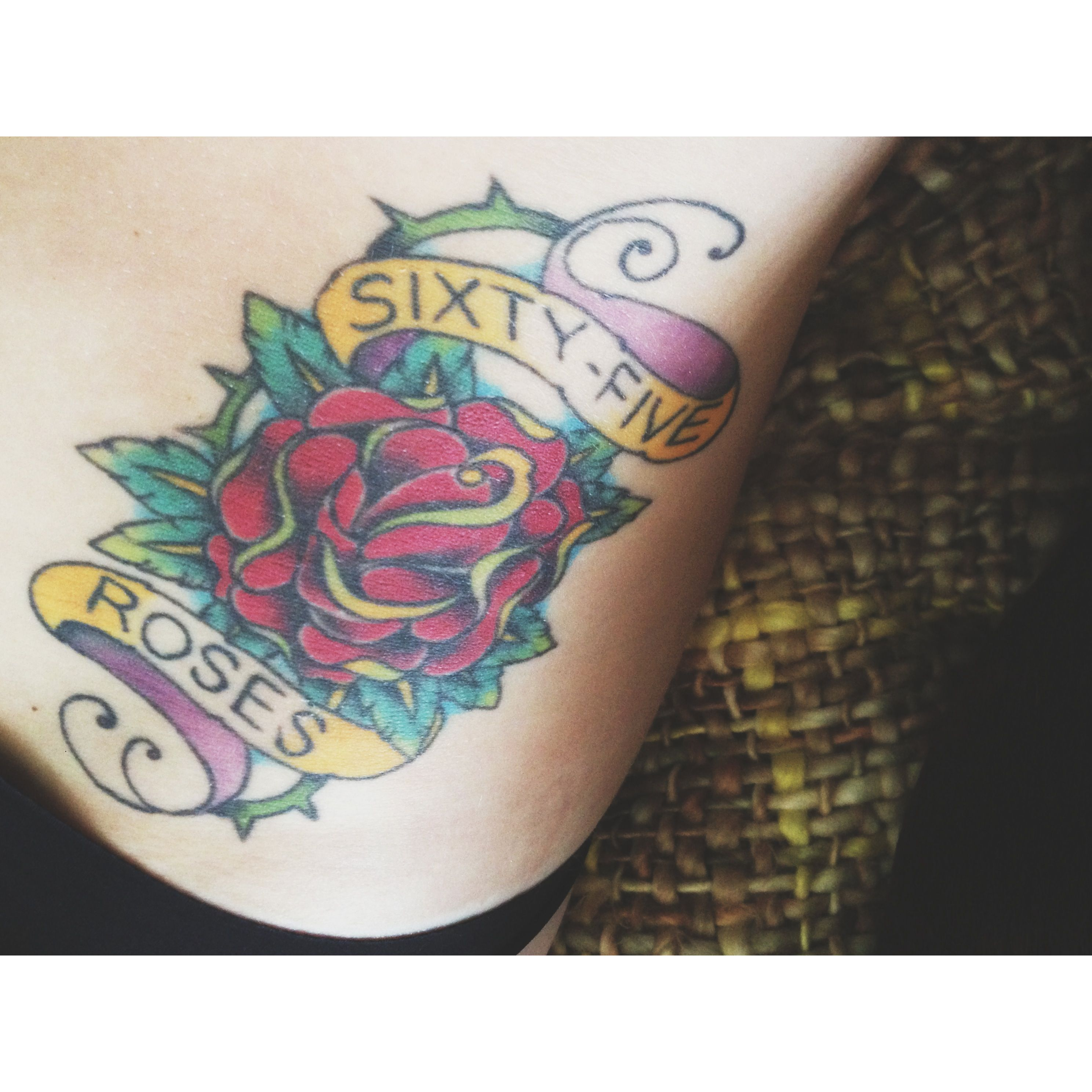 65 Roses Tattoo Cystic Fibrosis Awareness Ideas And Designs