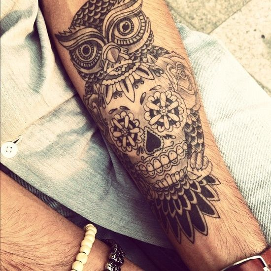 Tattoo Tattoos Owl Skull Tattoos Mexican Tattoo Ideas And Designs