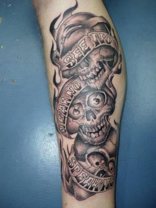 28 Hear No Evil See No Evil Speak No Evil Tattoos With Ideas And Designs
