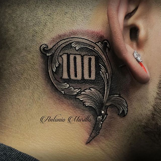 100 Bill Tattoo Dollar Bill 100 On Instagram Sleeve Ideas And Designs