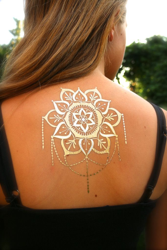 Mandala Black And Gold Flash Hair And Beauty Henna Ideas And Designs