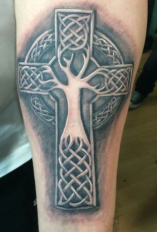 3D Celtic Cross Tree Tattoos For Men Tattoo Ideas And Ideas And Designs
