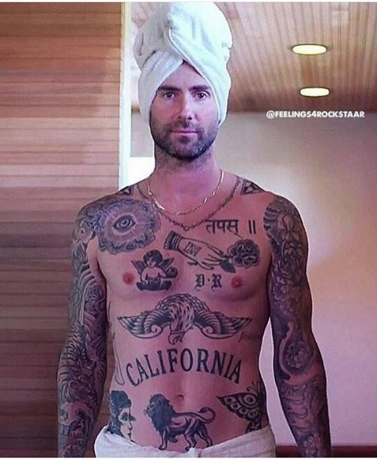 Pin By Michael Rolfe On Adam Levine Tattoos Piercings Henna Ideas And Designs