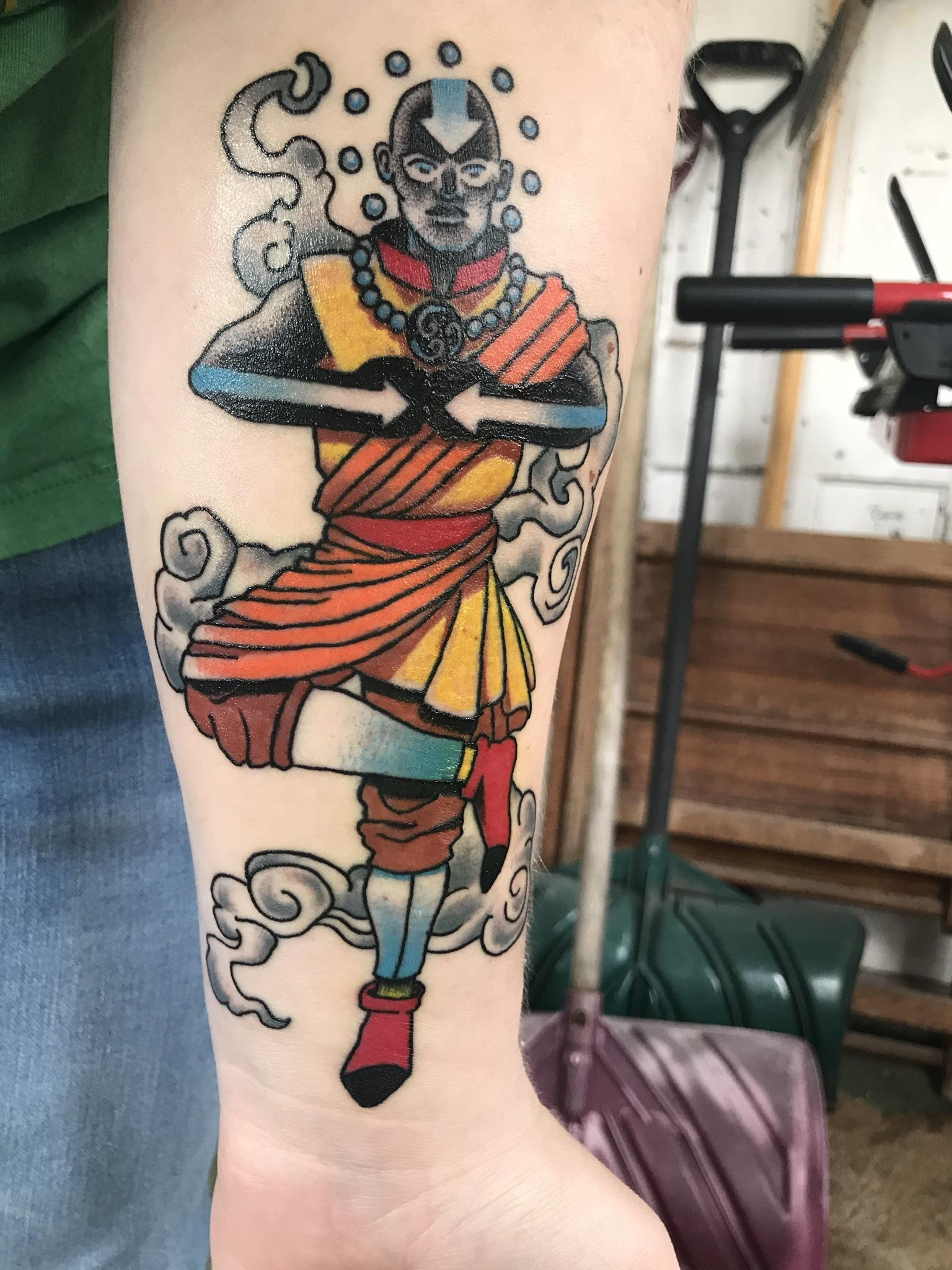 Avatar The Last Airbender Tattoo By Rob Fay At Ideas And Designs