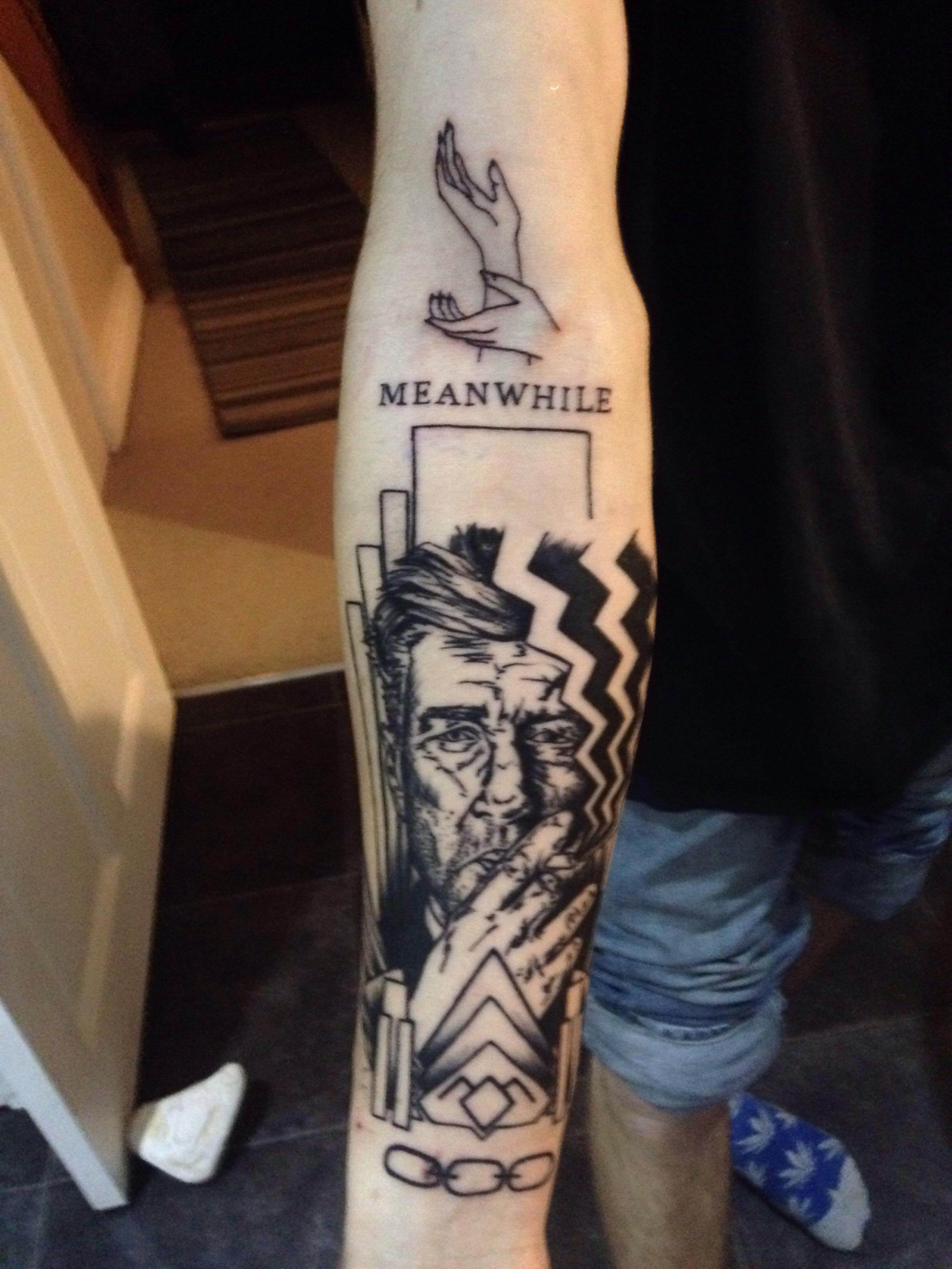 David Lynch Twin Peaks Tattoo Along With Bioshock Chains Ideas And Designs