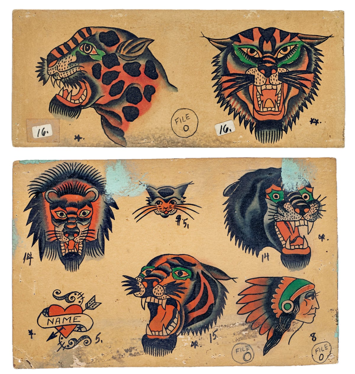 Skin Deep Glimpse Into The History Of American Tattoo Ideas And Designs
