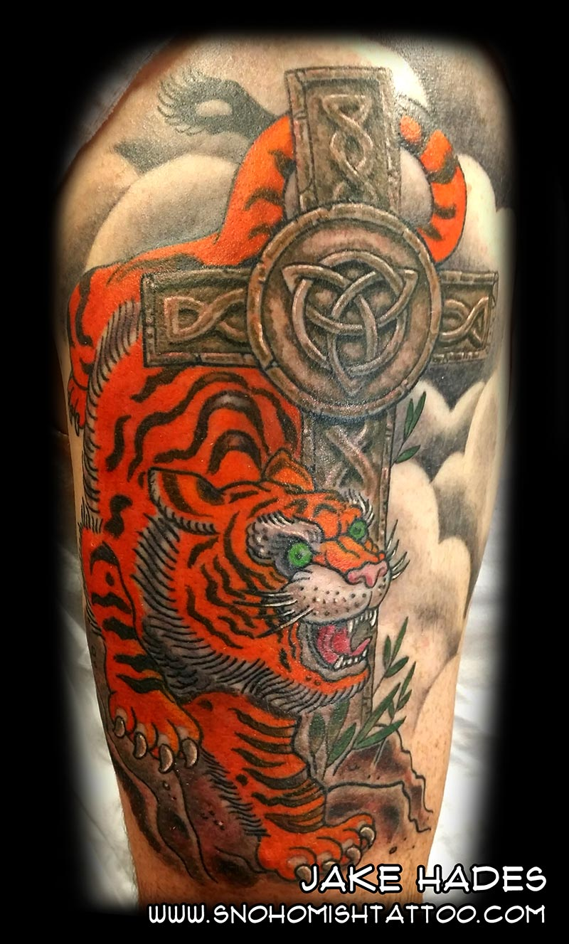 Fresh Pieces From Past Couple Weeks – Snohomish Tattoo Studio Ideas And Designs