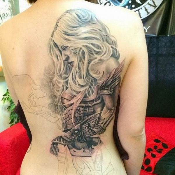 60 Awesome Back Tattoo Ideas For Creative Juice Ideas And Designs