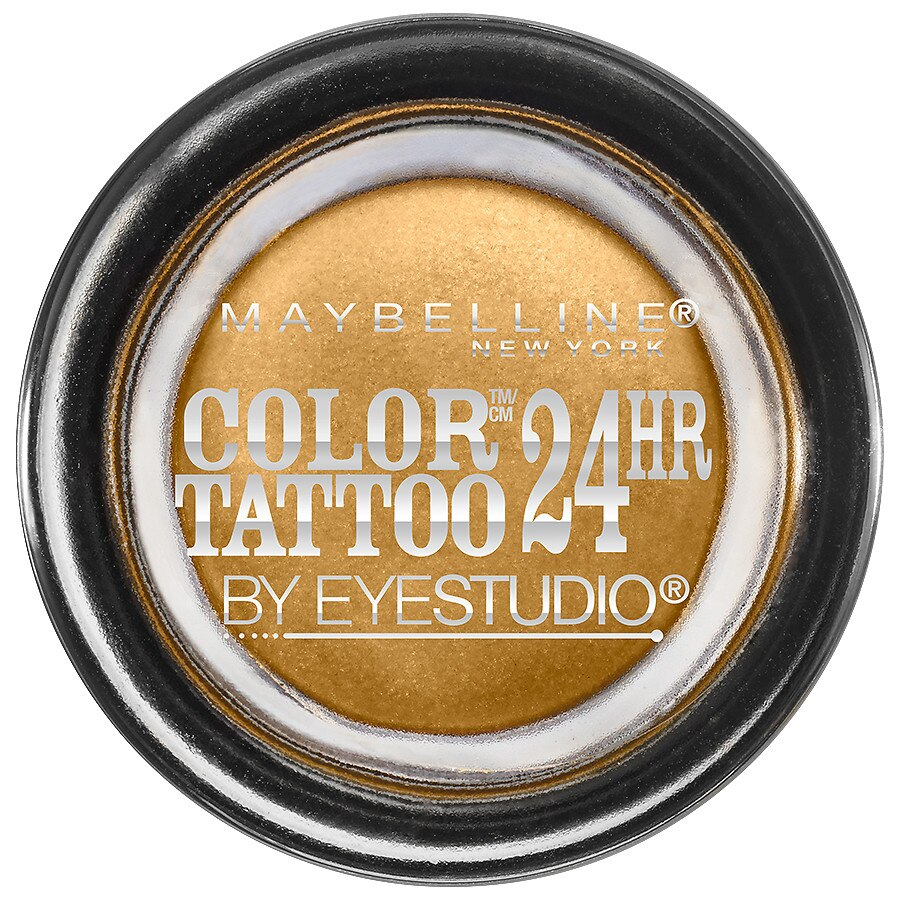 Maybelline Eye Studio Color Tattoo Eyeshadow Bold Gold Ideas And Designs