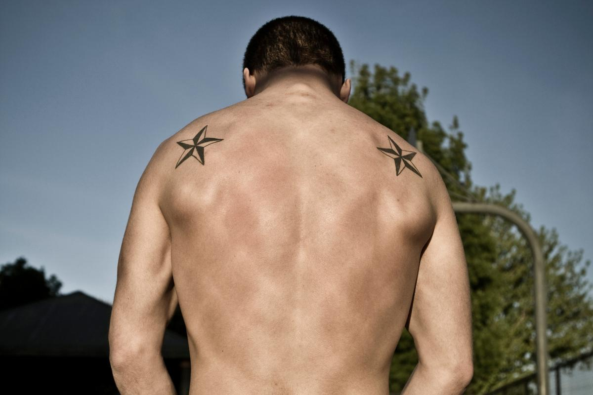 Nautical Star Tattoos For Guys Ideas And Designs