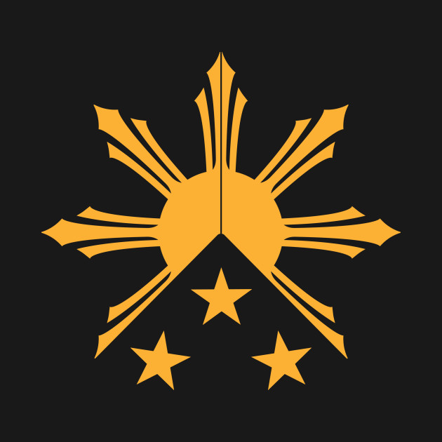 Tribal Philippines Filipino Sun And Stars Flag By Aireal Ideas And Designs