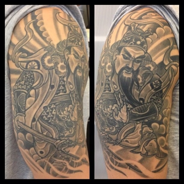 Guan Yu 1 2 Sleeve By Jay Yelp Ideas And Designs